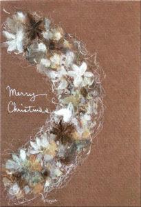 クリスマスカードリース